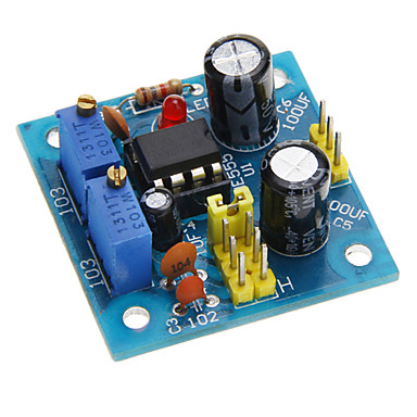 NE555 Darbe Modülü w / LED Göstergesi (DC 5 ~ 15V)