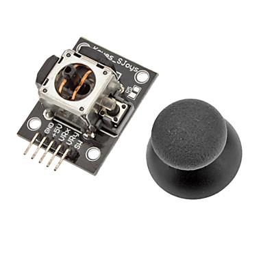 (Arduino için) uzaktan interaktif ürünler için ps2 başparmak joystick modülü