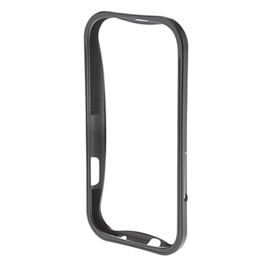 Için Samsung Galaxy Kılıf Şoka Dayanıklı Pouzdro Tampon Pouzdro Solid Renkli Metal Samsung S3