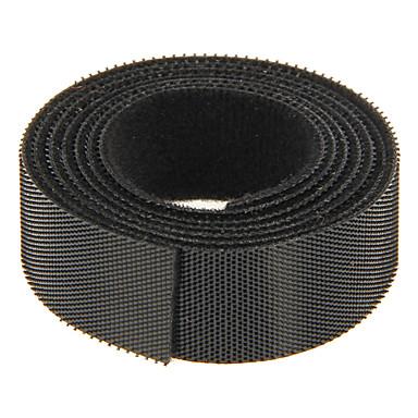 sihirli bant siyahı 100m * telin idaresi için 20mm