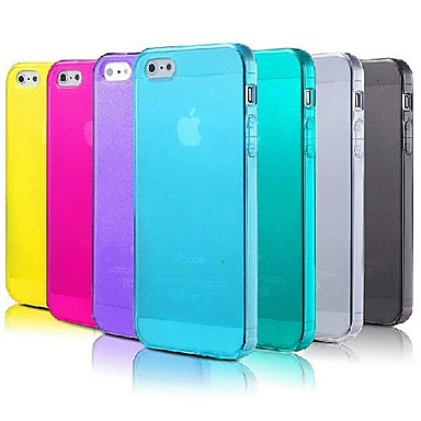 Ultra-thin Grind Arenaceous Back Case for iPhone 5/5S(Assorted Color)