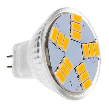 BRELONG® 1pc 30 W 450 lm LED Spot Işıkları MR11 15 LED Boncuklar SMD 5630 Sıcak Beyaz 12 V