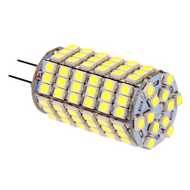 G4 LED Mısır Işıklar T 118 led SMD 5050 Serin Beyaz 400lm 5500-6500K DC 12V