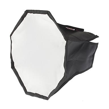 Sekizgen Katlanır Flaşlar Yumuşak Kutu (Siyah + Gümüş, M-Boyut)