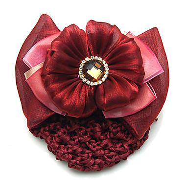 Kadın Yapay Elmas alaşım Flannelette Başlık-Düğün Özel Anlar Günlük Barrette