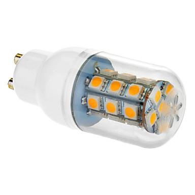 5w 450-550 lm gu10 e26 / e27 привело кукурузный свет 27 светодиодов smd 5050 теплый белый холодный белый ac 85-265v