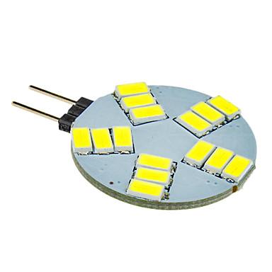 G4 Spoturi LED 15 led-uri SMD 5630 Alb Rece 330lm 5500-6500K DC 12V