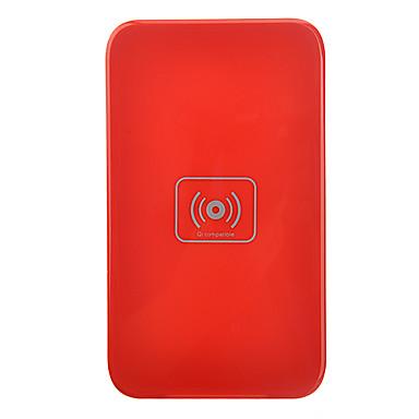 Nexus 4 Qi Kablosuz Şarj Lumia 920 HTC 8X DNA Samsung i9300 Note2 S3 S4 - Kırmızı