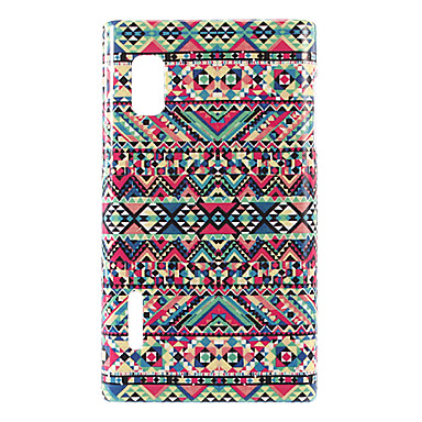 Colorful Flower Pattern Soft Case for LG L5/E610/E612