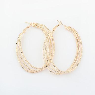 Γυναικεία Κρεμαστά Σκουλαρίκια Κρίκοι Βίντατζ Victorian Ευρωπαϊκό Κράμα Circle Shape Κοσμήματα Κοστούμια Κοσμήματα