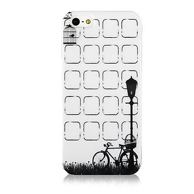 IPhone4/4S için Blok Liste Desen Silikon Kılıf