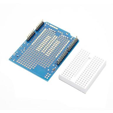 (Arduino için) için prototip kalkan + Mini breadboard (arduino) panoları için (resmi ile çalışır)
