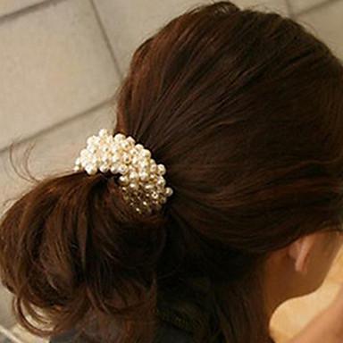 여성용 우아함 머리 끈 패브릭 / 머리끈 / 머리끈