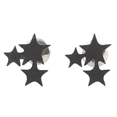 Vidali Küpeler alaşım Star Shape Mücevher Için Parti Günlük Spor