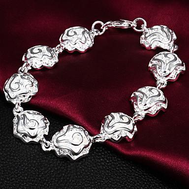Kadın's İhtişam Gümüş Mücevher Uyumluluk Parti Özel Anlar Doğumgünü Nişan Günlük