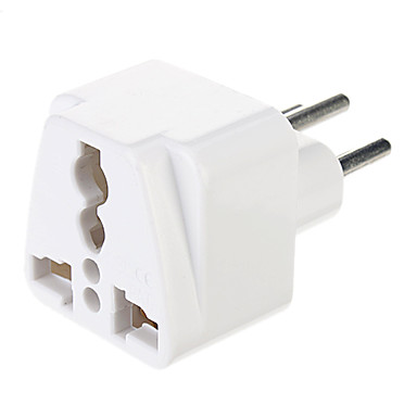 baratos Cabosde Alimentação e Adaptadores AC-universal uk / us / eu / au para a europa viajar ac adaptador de energia plug conversor