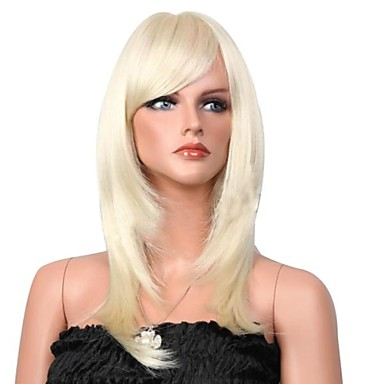 Sentetik Peruklar Klasik Yüksek kalite Yoğunluk Kadın's Sentetik Saç