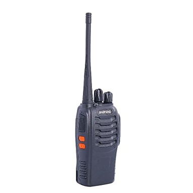 BAOFENG BF-888S 5W 400 ~ 470MHz 16-CH Walkie Talkie - Siyah
