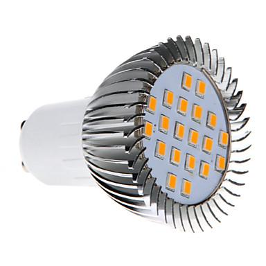 370-430 lm GU10 LED Mısır Işıklar MR16 20 led SMD 2835 Sıcak Beyaz AC 220-240V