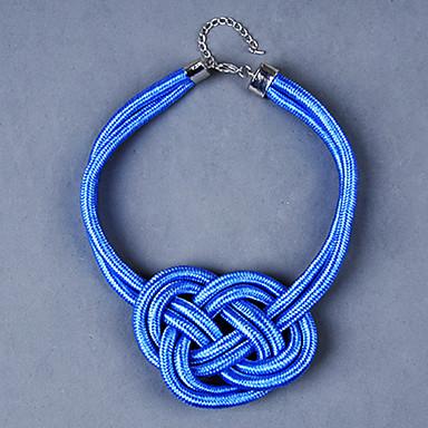 billige Mode Halskæde-z&X® europæisk flerfarvet stof Choker halskæde (flere farver) (1 stk)