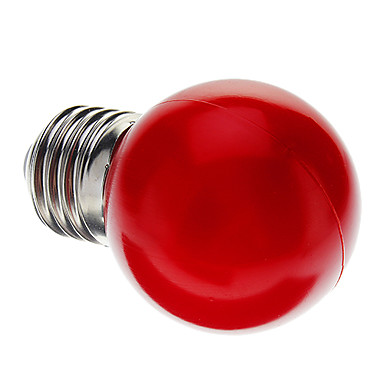 0.5W lm E26/E27 LED Globe Bulbs G45 7 leds Dip LED Decorative Red AC 220-240V