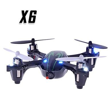 RC Drone X6 4CH 6 Eksen 2.4G HD Kameralı RC 4 Pervaneli Helikopter RC 4 Pervaneli Helikopter Uzaktan Kumanda