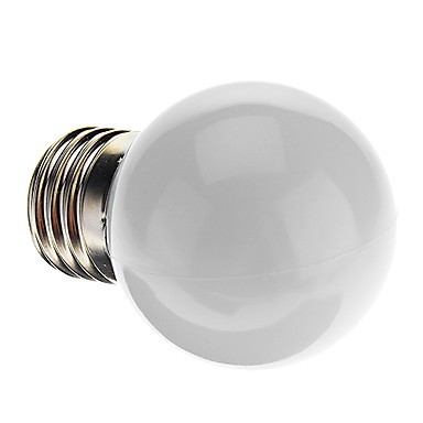 0.5W E26/E27 LED Küre Ampuller G45 7 Dip LED 50 lm Doğal Beyaz K Dekorotif AC 220-240 V