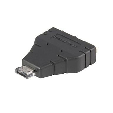 Combo eSATAp Güç eSATA eSATA, USB 2.0 ve USB Adaptörü Splitter üzerinde 1 2 yeni