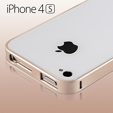 Ultra-thin 0.7mm Aluminum Metal Bumper Frame Case for Apple iPhone 4/4S(Assorted Colors)