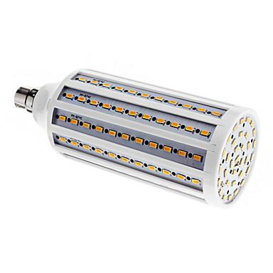 BRELONG® 1 buc 30 W 2500 lm B22 Becuri LED Corn T 165 LED-uri de margele SMD 5730 Alb Cald 220-240 V