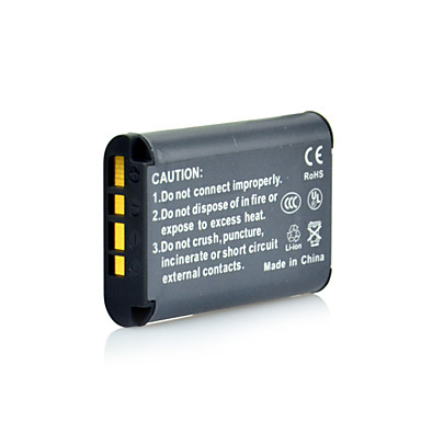 DSTE Full Coded 3.6V 1450mAh NP-BX1 Li-ion Battery & US Plug DC134 Charger for Sony DSC-RX100 HDR-AS15 RX1 HX300