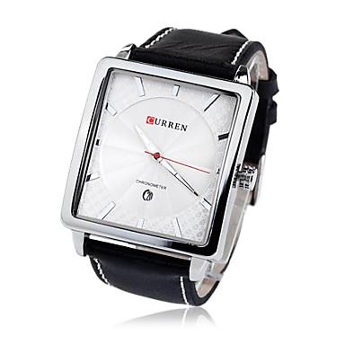Men's Water-Resistant Dial Alloy Band Quartz Wrist Watch