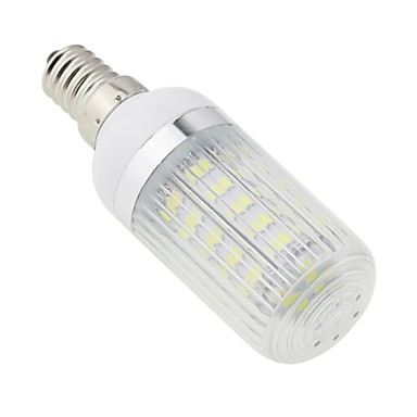 5500-6500 lm E14 LED Mısır Işıklar T 36 led SMD 5730 Serin Beyaz AC 220-240V