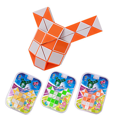 magic cube en plastique puzzle 48 pi ces pipe forme toy couleur al atoire de 1406518. Black Bedroom Furniture Sets. Home Design Ideas