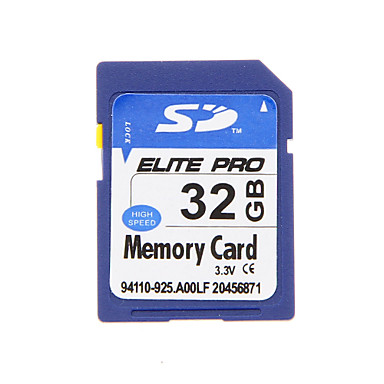 elit profesyonel, yüksek kaliteli 32gb sdhc sd hafıza kartı