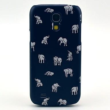 Pentru Samsung Galaxy Carcasă Carcase Huse Model Carcasă Spate Maska Elefant PC pentru Samsung Galaxy S4 Mini