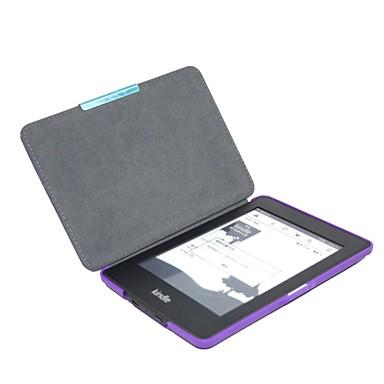 Кейс для Назначение Kindle Paperwhite Amazon Полноразмерные чехлы Чехол Твердый Кожа PU для