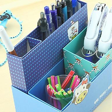 Yaratıcı Tasarım Kağıt Çok fonksiyonlu Saklama Kutusu (Rastgele Renk)