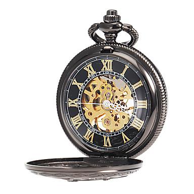 ab8b64db433 Homens Relógio de Bolso relógio mecânico Japanês Mecânico - de dar corda  manualmente 30 m Gravação