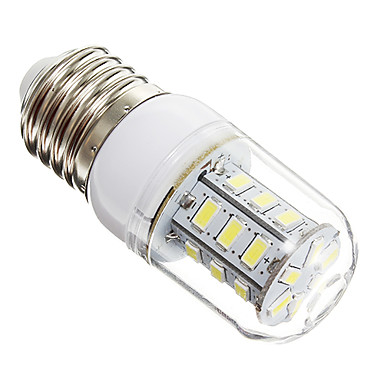 3W 270 lm E14 E26/E27 LED Corn Lights 24 leds SMD 5730 Warm White Cold White AC 220-240V
