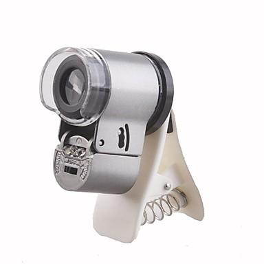 65X LED Șef de lumină și lumina UV Mărire Microscop pentru Samsung Cellphone S3/S4/S5/N9000/N7100