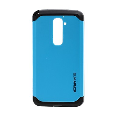 Tough Armor Hit Color Plastic Hard and Soft Combination Case for LG G2 D802
