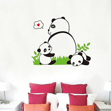 Panda model de perete autocolant (1PCS)
