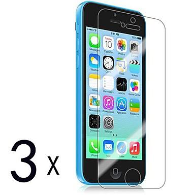 Ekran Koruyucu Apple için iPhone 6s Plus iPhone 6 Plus iPhone SE/5s 3 parça Ön Ekran Koruyucu Yüksek Tanımlama (HD)