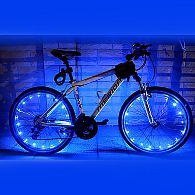 Lumini de Bicicletă lumini roți LED Ciclism Rezistent la apă AA Lumeni Baterie Ciclism - FJQXZ