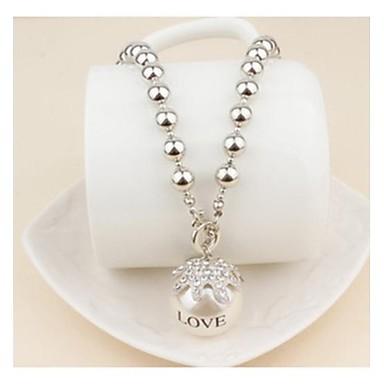 Pentru femei Perle Cristal Imitație de Perle Coliere cu Pandativ Κολιέ με Πέρλες  -  Coliere Pentru Nuntă Petrecere Zilnic