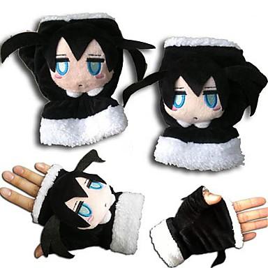 Mănuși Inspirat de Vocaloid Black Rock Shooter Anime Accesorii Cosplay Mănuși Lână polară Bărbați Pentru femei Pentru copii nou fierbinte