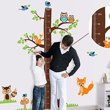 Createforlife ® Karikatür ağacı Boyut Grafik Çocuk Kreş Odası Duvar Sticker Wall Art Çıkartmaları