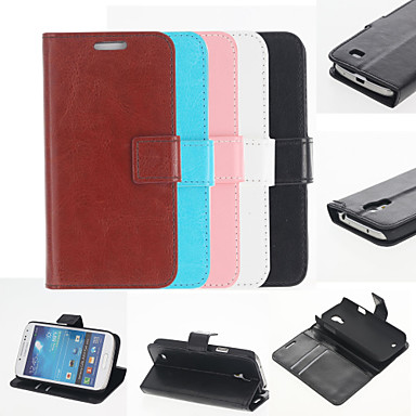 Solid Color Case with Stand for Samsung Galaxy S4 mini I9190 (Assorted Colors)