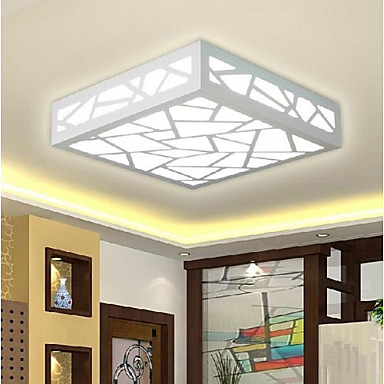 Montagem do Fluxo Luz Ambiente - LED, 90-240V, Branco Quente / Branco, Fonte de luz LED incluída / 10-15㎡ / Led Integrado